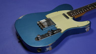 Fender Custom Shop 1963 Custom Telecaster Relic - Faded Lake Placid Blue