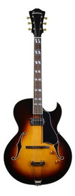 Eastman AR371CE Single Pickup Archtop Sunburst (AR371CESB)