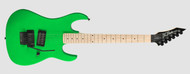 B.C Rich Gunslinger Maple Neck - Neon Green
