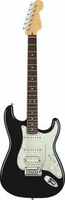 Fender American Deluxe Stratocaster HSS - Rosewood Fingerboard - Black