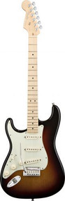 Fender American Deluxe Stratocaster Left Handed - Maple Fingerboard - 3-Color Sunburst