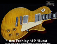 Gibson Custom Shop Ace Frehley '59 Les Paul Standard Aged & SIgned - Only 50 beign MADE! CSAF59SFBNH