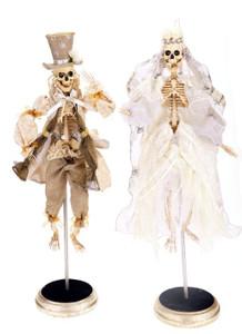 Dearly Departed Bride & Groom Dolls 16ƒ?