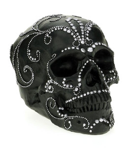 Black Skull Head Mask for Halloween 6ƒ?