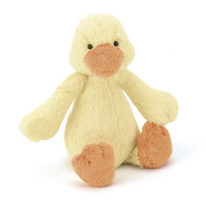 BASHFUL YELLOW DUCKLING 12in