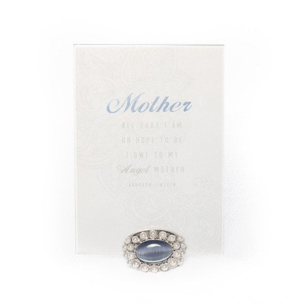 Mother's Day Gift with Abraham Lincoln Quote