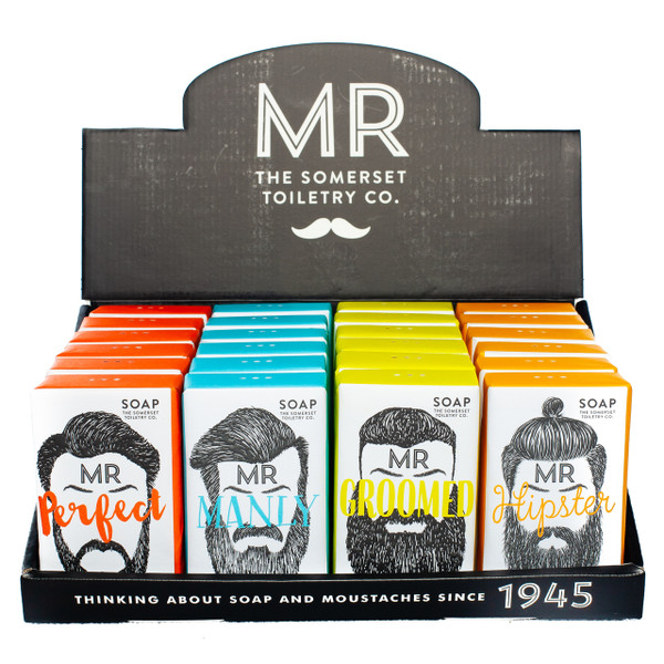 A fun soap for him. Great as a stocking stuffer!