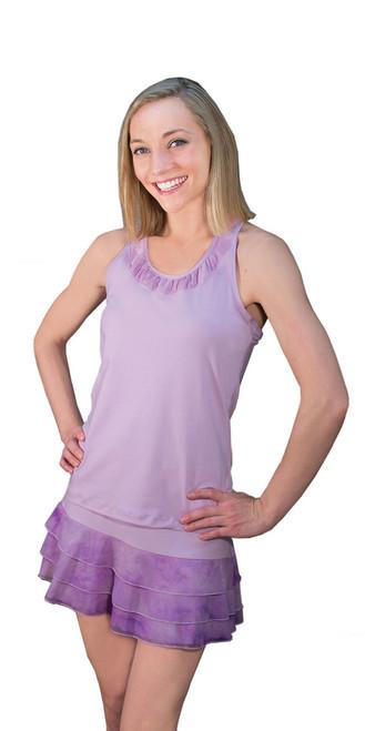 PT0744 in Lavender Tie Dye Mesh