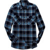 Men's Front Velcro® Brand Closure Flannel Shirt
