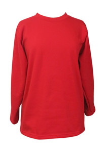 Adaptive Back-Snap Fleece Top- Red