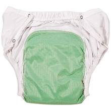 Reusable Incontinent Diaper Brief with Snaps