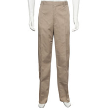 mens half elastic twill pants