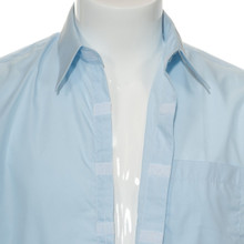 Men's Front Velcro® Dress Shirt-Short Sleeve