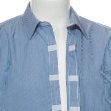 Velcro detail-Front Velcro shirt