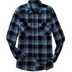 Men's Front Velcro® Closure Flannel Shirt