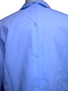 back view of men's shirt
