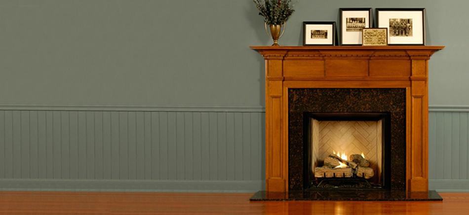 Custom Wood Fireplace Mantels