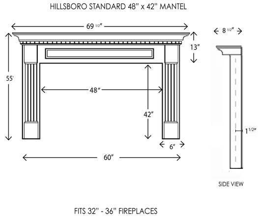 Wood Fireplace Mantels Fireplace Mantels