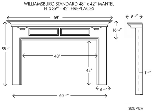 Wood Fireplace Mantels Fireplace Surrounds