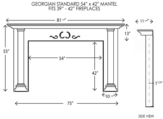 Wood Fireplace Mantels Fireplace Mantel