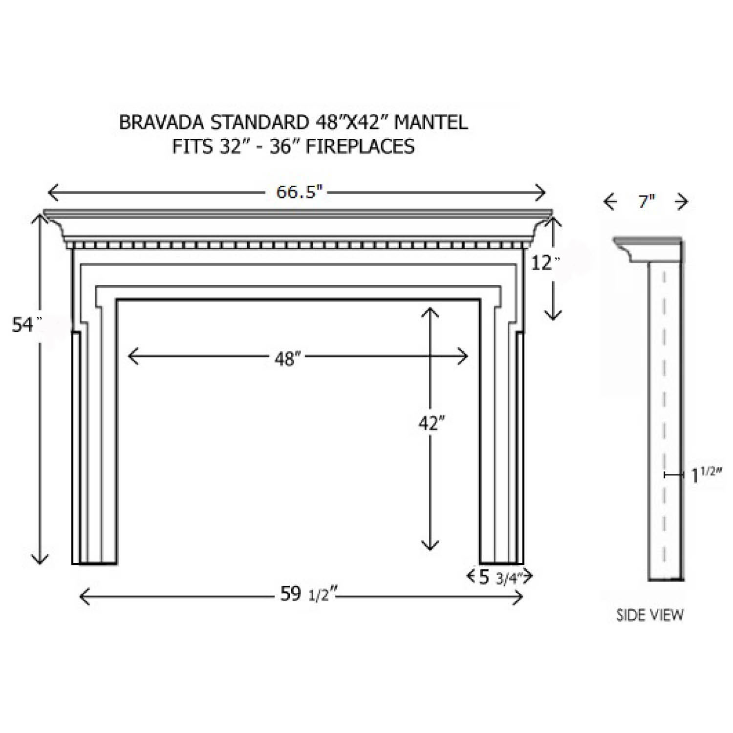 standard fireplace dimensions fireplace ideas