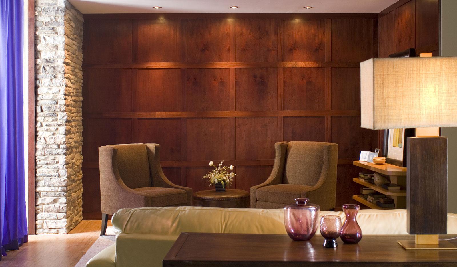 . Fine Wood Veneer Paneling   Unfinished   Walnut   Mahogany   Cherry