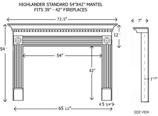 Wood Fireplace Mantels Builder Mantels