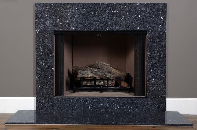 Blue Pearl Granite Fireplace Surround Facing Mantelcraft