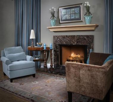 Emperador Marron Braun Brown Marble Fireplace Surround Facing
