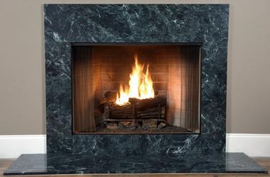 Fireplace Facings Verde Green Marble MantelCraft