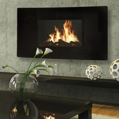 "Advanced and patented technologies create the most sophisticated and realistic fire in the world!  Design the give the appearance of outstanding depth of fire, along with a 3D effect, with a choice of flame patterns and speeds.  Blazing fire pattern.  Approximate firebox dimensions::  19""W  x  10.5""H"