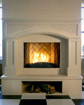 Palladio Stone Fireplace Mantel