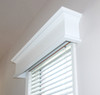 Colony valance in white