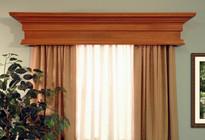 The Trend wood cornice.