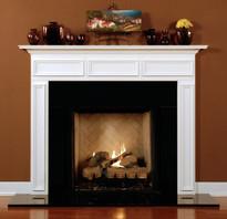 Wood Fireplace Mantels   Fireplace Mantel Surrounds   Fireplace ...
