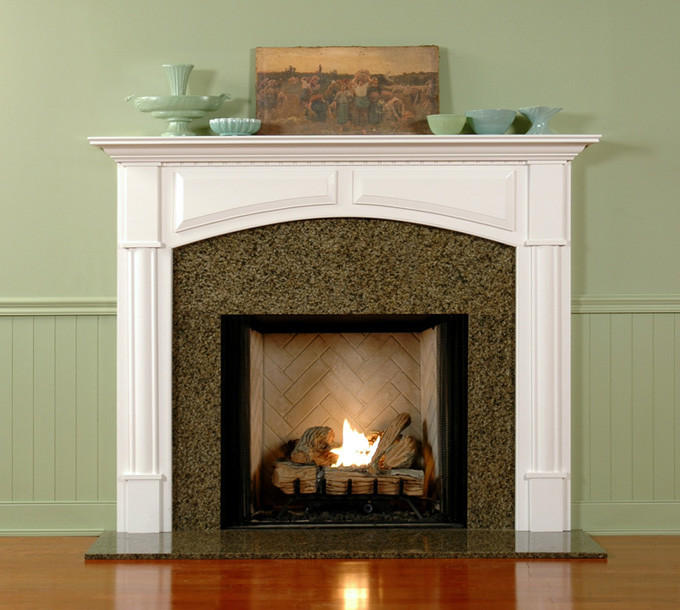 Wood Fireplace Mantel Custom | Fireplace Surrounds | Lexington ...
