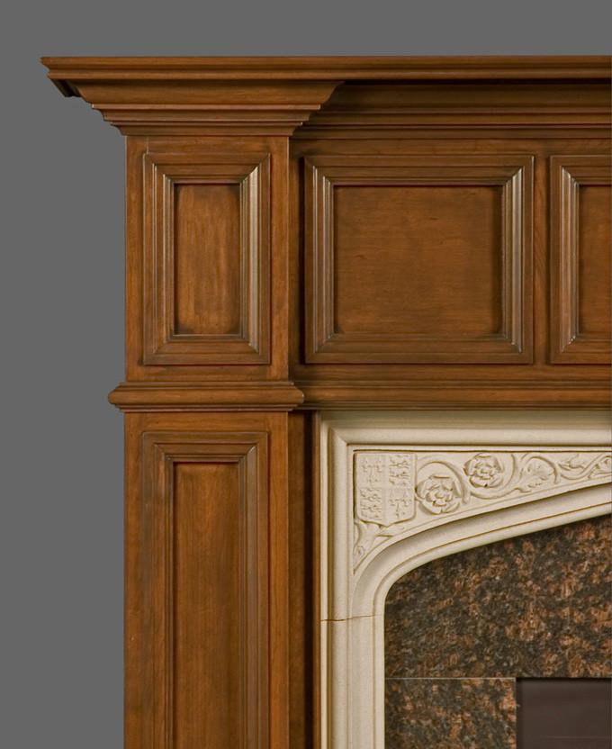 wood fireplace mantels fireplace surrounds oxford. Black Bedroom Furniture Sets. Home Design Ideas