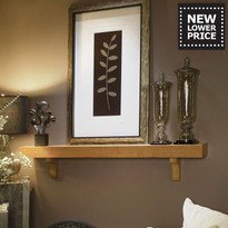The Shaker Box Mantel Shelf with corbels is now available at a new lower price!