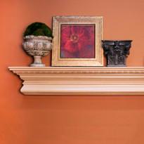 The Manorville fireplace mantel shelf