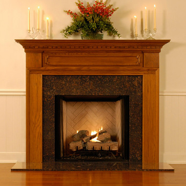 Wood Fireplace Mantel Surrounds | Hampton Fireplace Mantel ...