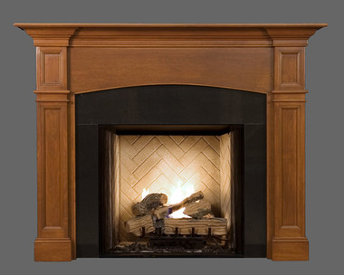 Wood Fireplace Mantels | Hartford | American Collection
