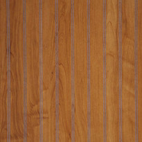 Detail of Williams Cherry Beaded Wainscot Paneling