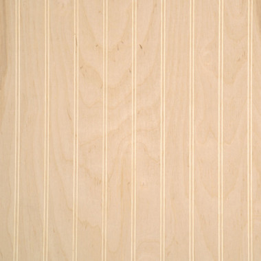 Beadboard paneling unfinished birch for Custom craft laminate sheets