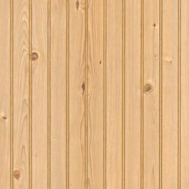 wainscoting height rustique pine beadboard paneling