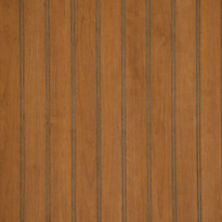 Detail image of our Tobacco Cherry Beadboard Paneling