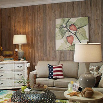Beaded Weathered Cedarwood paneling