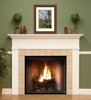 Montpelier, similar to our Monticello, only with smooth (non-fluted) mantel legs