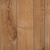 Random plank and grooved Gala Oak wall paneling