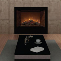 HomeFire36 Electric Insert with Juniper Logset, by Modern Flames