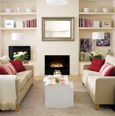 HF36 electric fireplace by Modern Flames in a living room setting